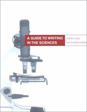 Cover of: A guide to writing in the sciences | Andrea A. Gilpin
