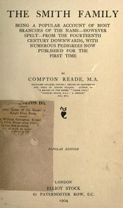 Cover of: The Smith family by Compton Reade