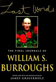 Cover of: Last words | William S. Burroughs