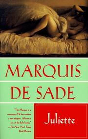Cover of: Juliette | Marquis de Sade