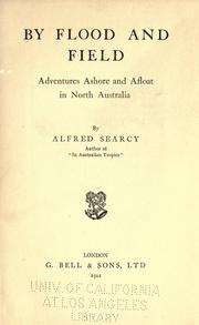 Cover of: By flood and field | Alfred Searcy