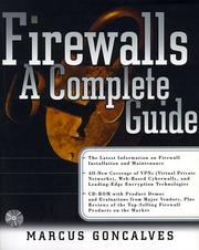 Cover of: Firewalls | Marcus Goncalves