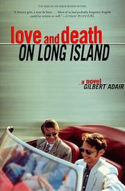 Cover of: Love and death on Long Island | Gilbert Adair