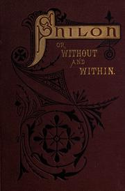 Cover of: Shiloh, or, Without and within | W. M. L. Jay