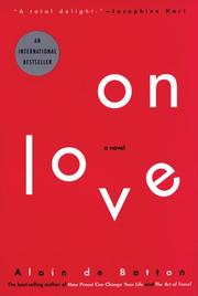 Cover of: On Love | Alain de Botton