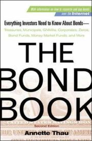 Cover of: The Bond Book | Annette Thau