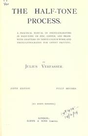 Cover of: The half-tone process | Julius Verfasser