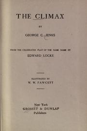Cover of: The Climax | George C. Jenks
