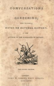 Cover of: Conversations on gardening | Asa Gray