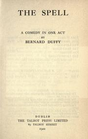 Cover of: The spell | Bernard Duffy