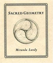 Cover of: Sacred Geometry (Wooden Books) by Miranda Lundy