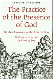 Cover of: The Practice of the Presence of God by Brother Lawrence of the Resurrection