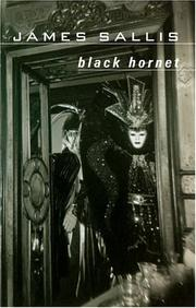 Cover of: Black Hornet (Lew Griffin Mysteries) | James Sallis