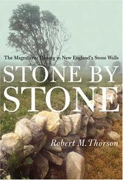 Cover of: Stone by Stone by Robert Thorson
