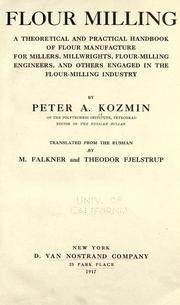 Cover of: Flour milling | Peter A. Koz'min