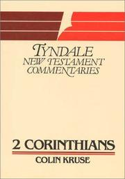 Cover of: Second Epistle of Paul to the Corinthians by Colin G. Kruse