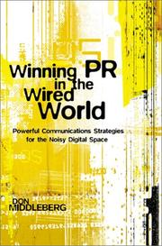 Cover of: Winning PR in the Wired World | Don Middleberg