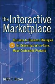 Cover of: The Interactive Marketplace | Keith Brown