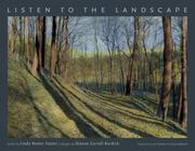 Cover of: Listen to the Landscape by Linda Nemec Foster
