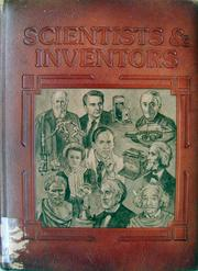 Cover of: Scientists & inventors | Anthony Feldman, Peter Ford