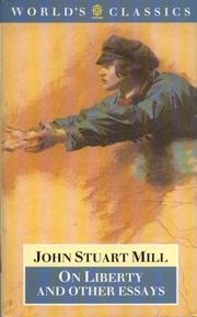 Cover of: On liberty and other essays | John Stuart Mill