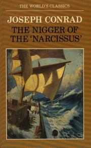 "Cover of: The nigger of the ""Narcissus"" by Joseph Conrad"