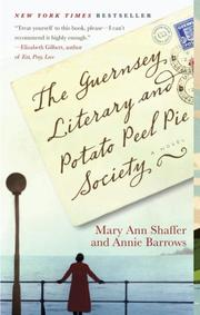 Cover of: The The Guernsey Literary and Potato Peel Pie Society | Mary Ann Shaffer