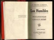 Cover of: Los Humildes | Piwonka Jilaberto