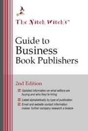 Cover of: The Nitch Witch's Guide to Business Book Publishers | Mary Ellen Waszak