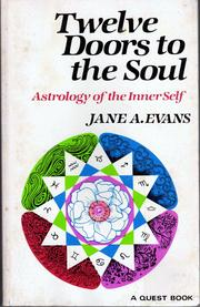 Cover of: Twelve Doors to the Soul | Jane A. Evans