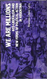 Cover of: We are millions | Marcela López Levy