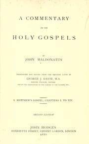 A commentary on the Holy Gospels ..