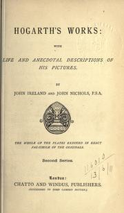 Cover of: Hogarth's works by Ireland, John