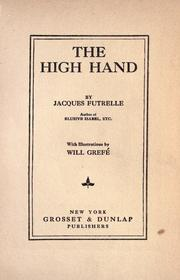 Cover of: The high hand by Jacques Futrelle