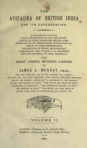 Cover of: The avifauna of British India and its dependencies | James A. Murray