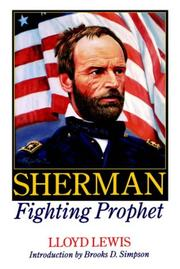 Cover of: Sherman Fighting Prophet by Lloyd Lewis