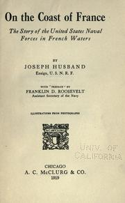Cover of: On the coast of France by Joseph Husband