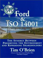 Cover of: Ford & ISO 14001 | Tim O'Brien