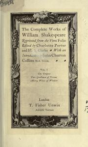 Cover of: Plays (Merry Wives of Windsor / Tempest / Two Gentleman of Verona) | William Shakespeare