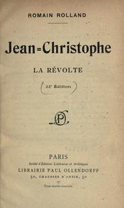 Cover of: Jean-Christophe | Romain Rolland