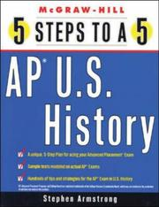 Cover of: 5 Steps to a 5 on the Advanced Placement Examinations | Stephen Armstrong