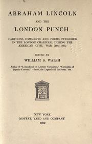 Cover of: Abraham Lincoln and the London Punch | William Shepard Walsh