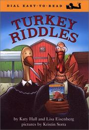 Cover of: Turkey Riddles (Easy-to-Read, Dial) | Katy Hall