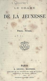 Cover of: [Oeuvres] | Paul Féval