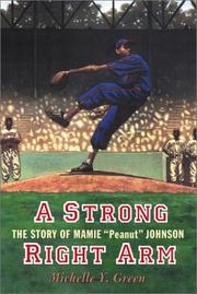 Cover of: A Strong Right Arm | Michelle Y. Green