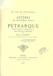 Cover of: Un ami de Pétrarque | Francesco Nelli