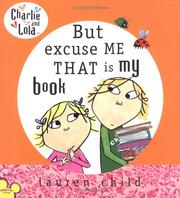 Cover of: But, excuse me, that is my book by Lauren Child