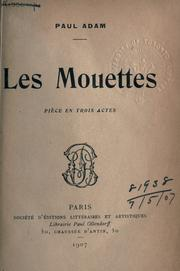 Cover of: Les mouettes | Adam, Paul