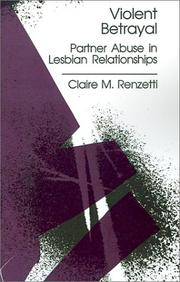 Cover of: Violent betrayal by Claire M. Renzetti