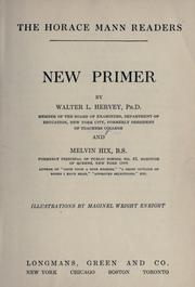 Cover of: New primer | Walter L. Hervey